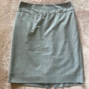 The Limited Grey Pencil Skirt